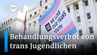 Arkansas verbietet trans Jugendlichen geschlechtsangleichende Behandlungen   DW Nachrichten