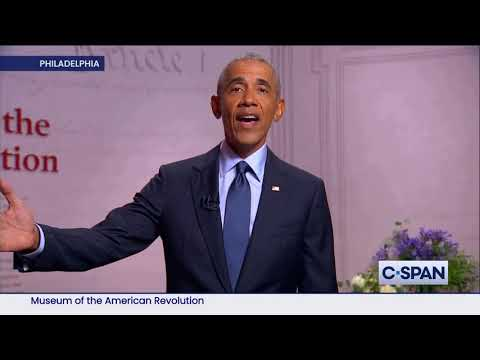 Former President Barack Obama Full Remarks at 2020 Democratic National Convention