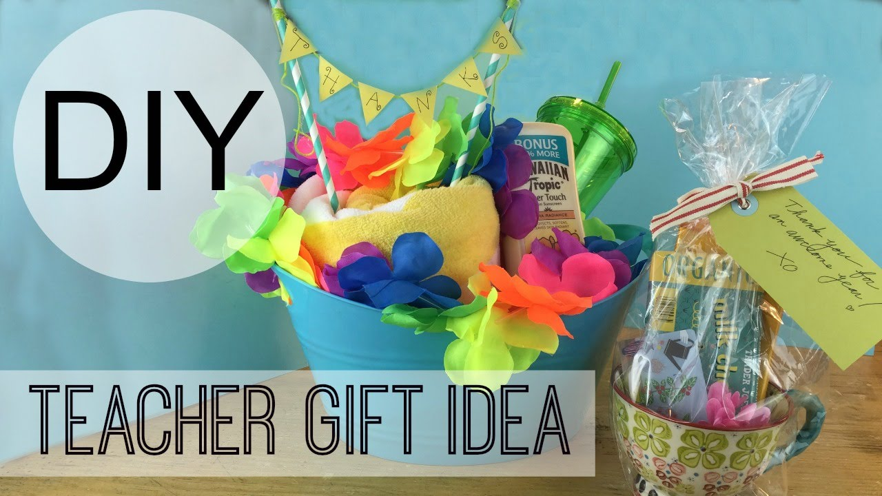 Diy teacher gift ideas by michele baratta youtube negle Images