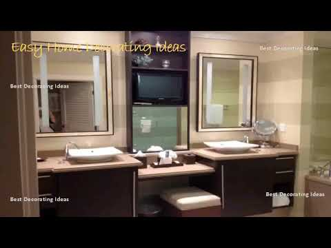 Best Pics of Art Deco Bathroom Vanity with Mirror and Lights | Styling Home With Adorable