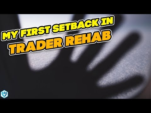 My First Setback In Trader Rehab | Ross's Trade Recap