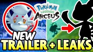 NEW MYSTERY TRAILER and INSANE LEAKS?! Pokemon Legends Arceus NEWS BREAKDOWN!