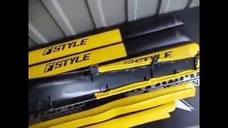 Накладки дверные батоны ВАЗ 2101 - 2107 желтые(Накладки на обшивку