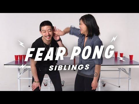 Brother vs. Sister  (Alstein & Stephanie) | Fear Pong | Cut