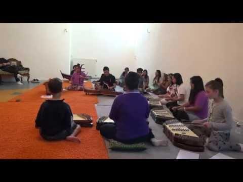 Wat Buddhavihara Amsterdam Thai Music Group (1/2015) ลาวเสี่ยงเทียนชั้นเดียว