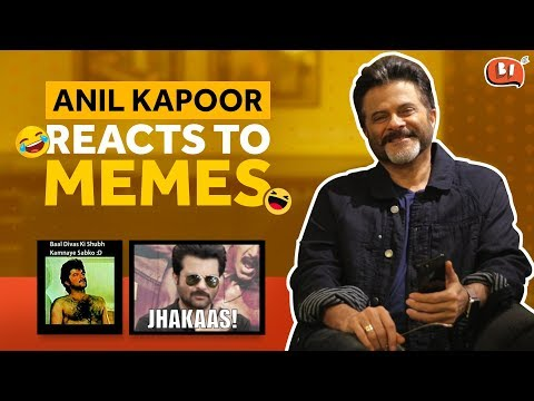 Anil Kapoor Reacts To Anil Kapoor Memes  Being Indian