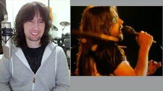 British guitarist analyses Bob Seger singing Hollywood Nights live in 1978!