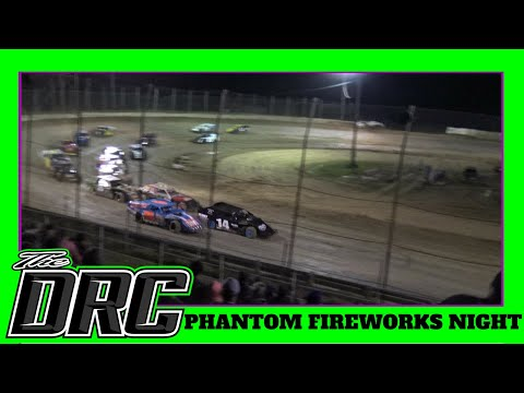 Moler Raceway Park | 7/6/18 | Phantom Fireworks Night | Cohen Recycling Sport Mod Feature