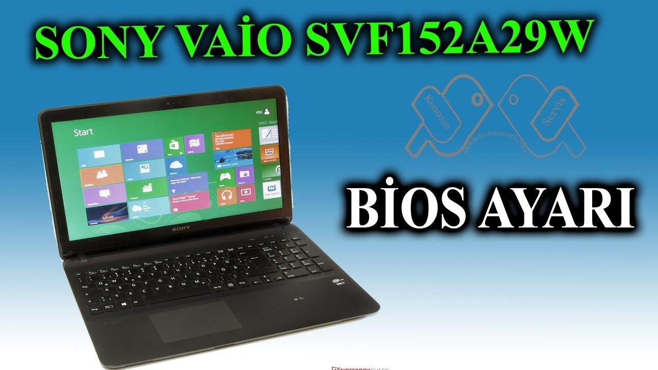 Скачать драйвера для ноутбука Sony Vaio Svf152a29v