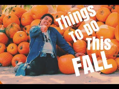 Things To Do This Fall + DIY! || Christian Garcia