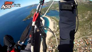 Learning Wing-Over and SAT - Instructional Acro Tandem Flight with Pal Takats
