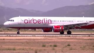 Air Berlin D-ABCJ (Landing) Palma de Mallorca Airport