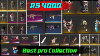Rs 4000 Best Pro Collection in Free Fire / Free Fire Fire Tricks Tamil /Sk Gaming