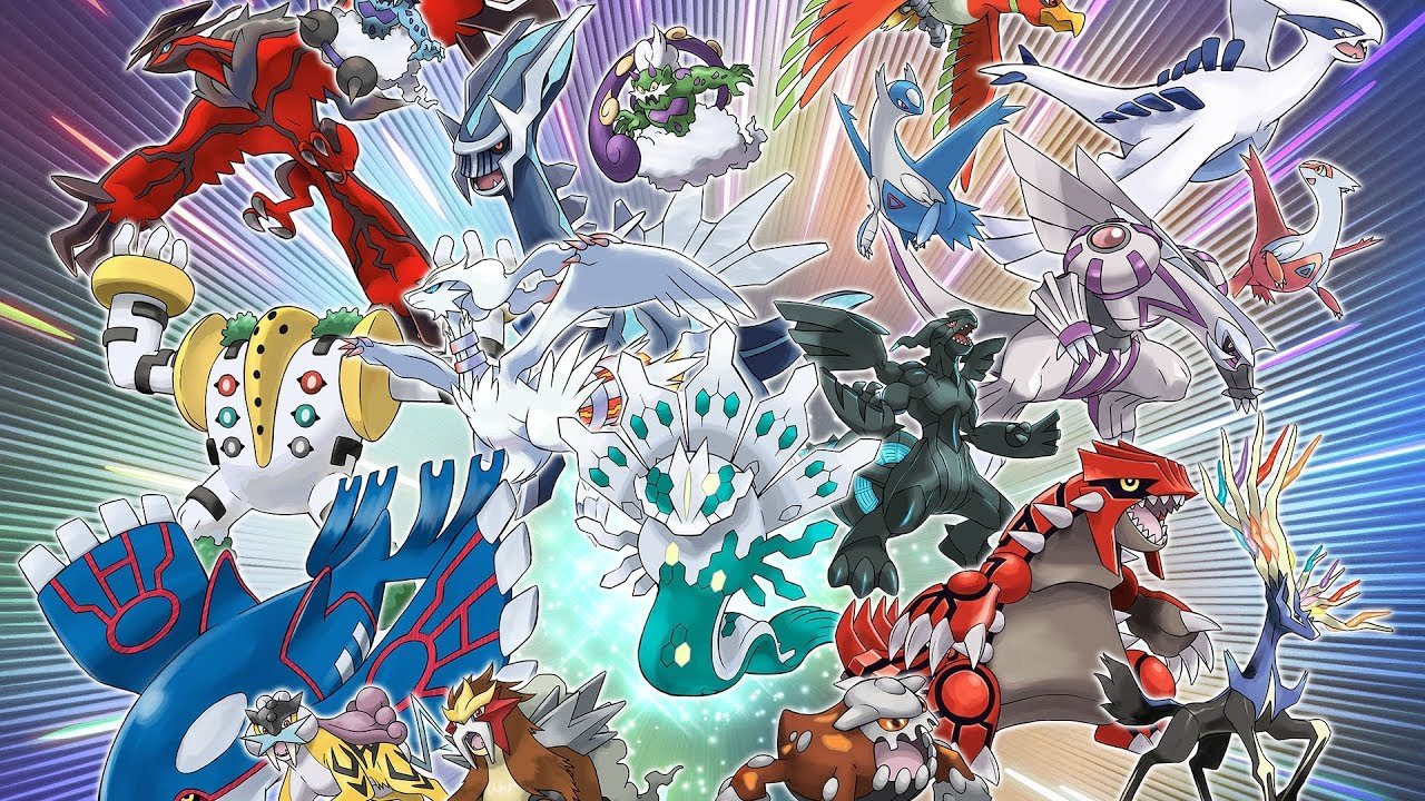 2018 sera l ann e des pok mon l gendaires youtube - Pokemon x et y legendaire ...