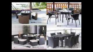 Decon Designs Wicker Dining Set