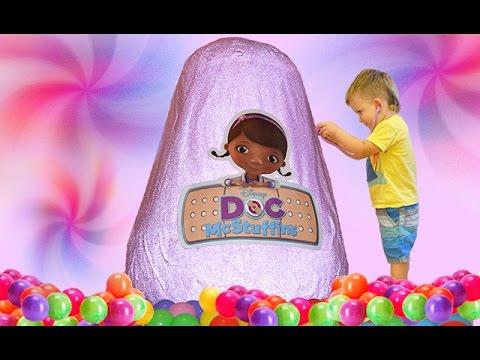 Доктор Плюшева - На приеме у доктора/ Крошка Яйцо
