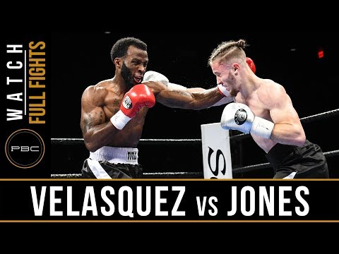 Velasquez vs Jones FULL FIGHT: September 19, 2017 - PBC on FS1