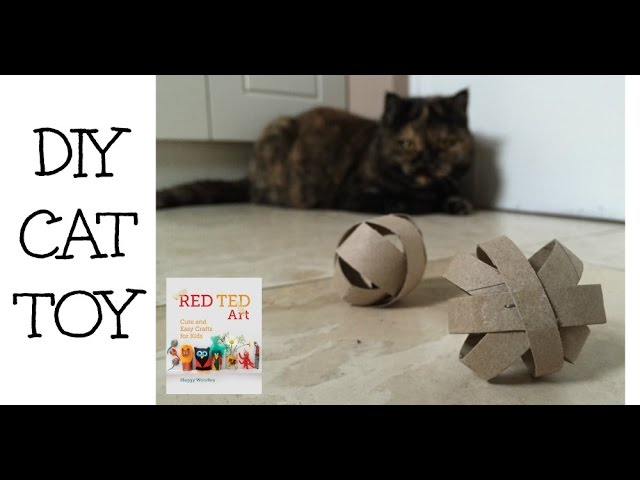 Make a Simple Cat Toy from a TP Roll