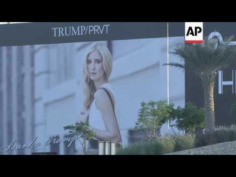 Trump's Posters Removed In Dubai