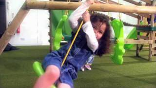 Marlow Bridge Climb N Slide Swingset
