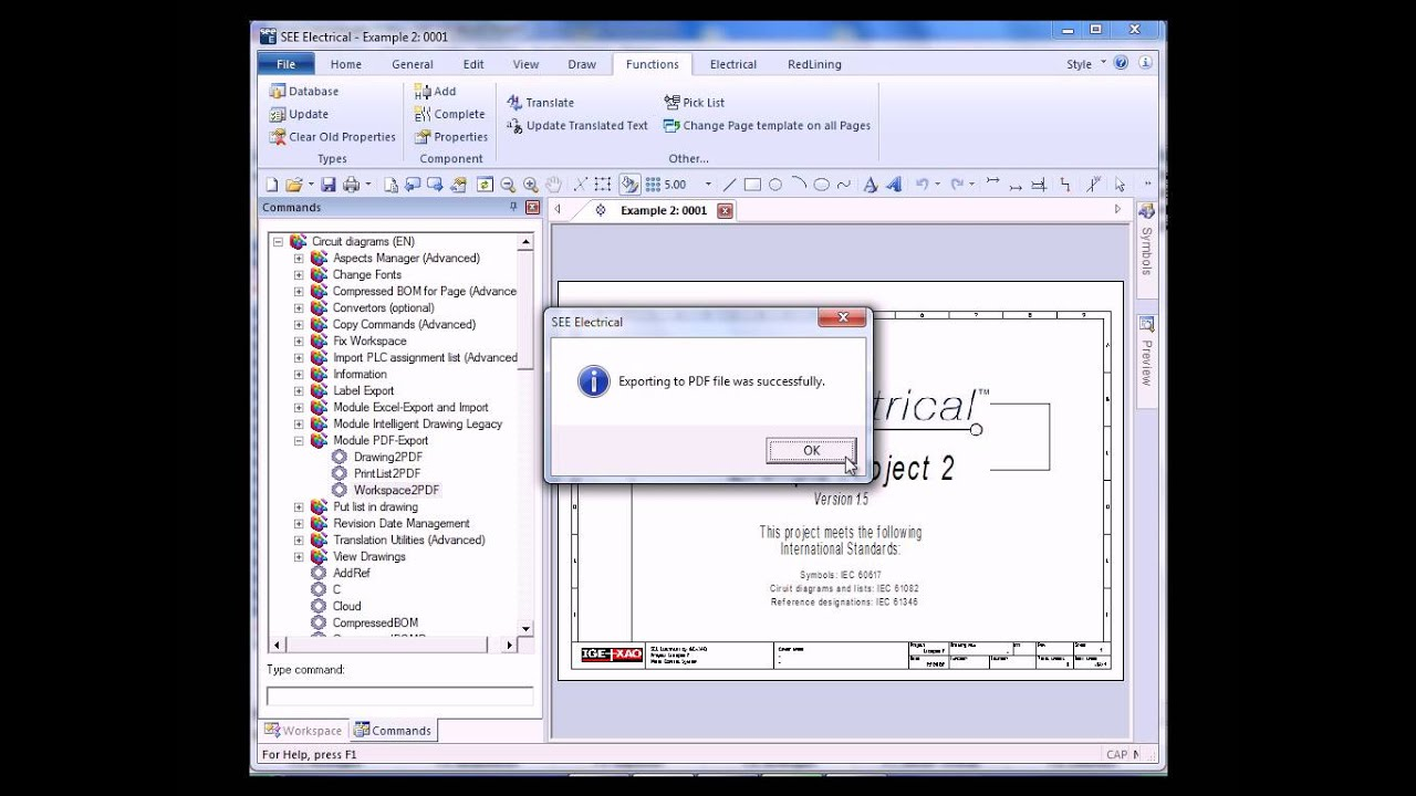 SEE Electrical Intelligent PDF Module YouTube - Electrical drawing pdf file