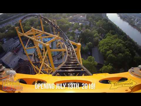 This New Roller Coaster in Pittsburgh Flips You Around a
