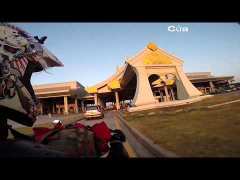 Hành chình phượt Lào Campodia  Việt Nam Thái Lan bằng xe moto của diễn viên Linh Sơn hót 9