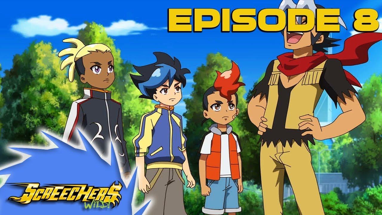 Download Screechers Wild! Season 1 Episode 8 | The Track is Lava! | HD Full Episodes