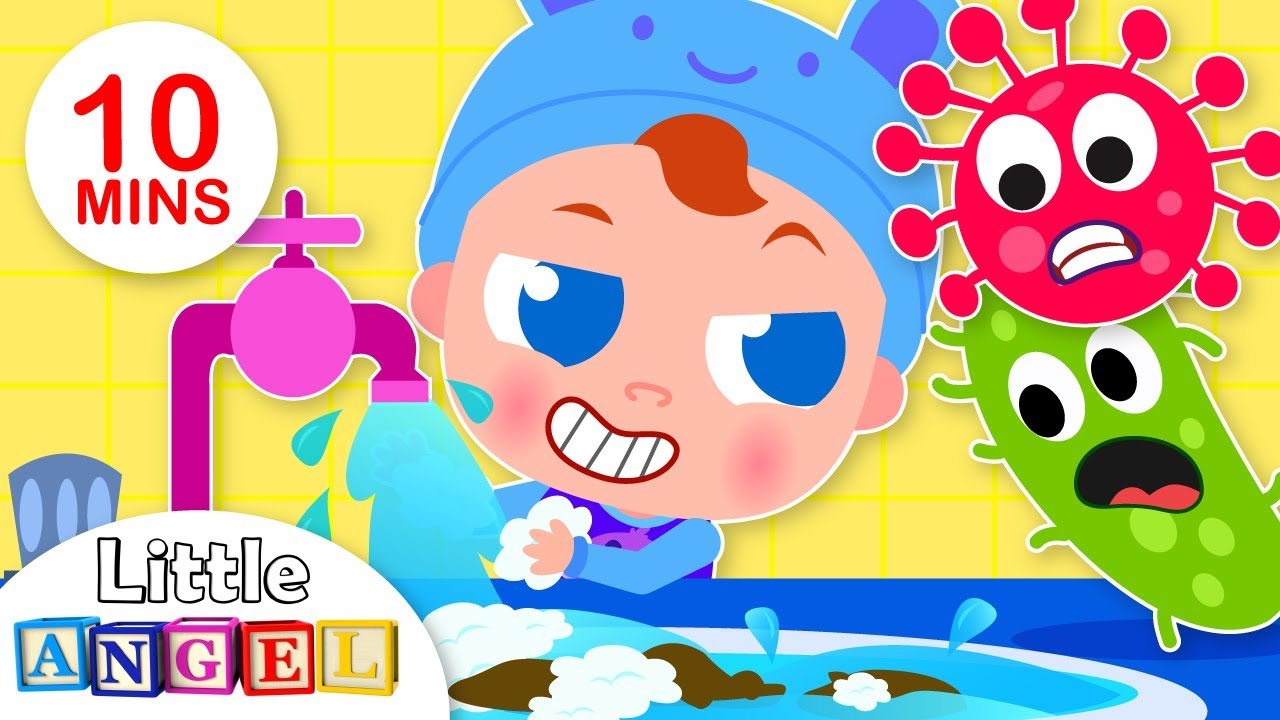 Wash your Hands | Healthy Habits | Kids Songs by Little Angel