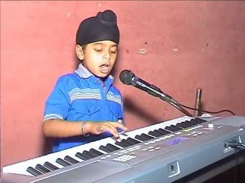 sur bharti sangeet) lakdi ki kathi piano by akhand - YouTube