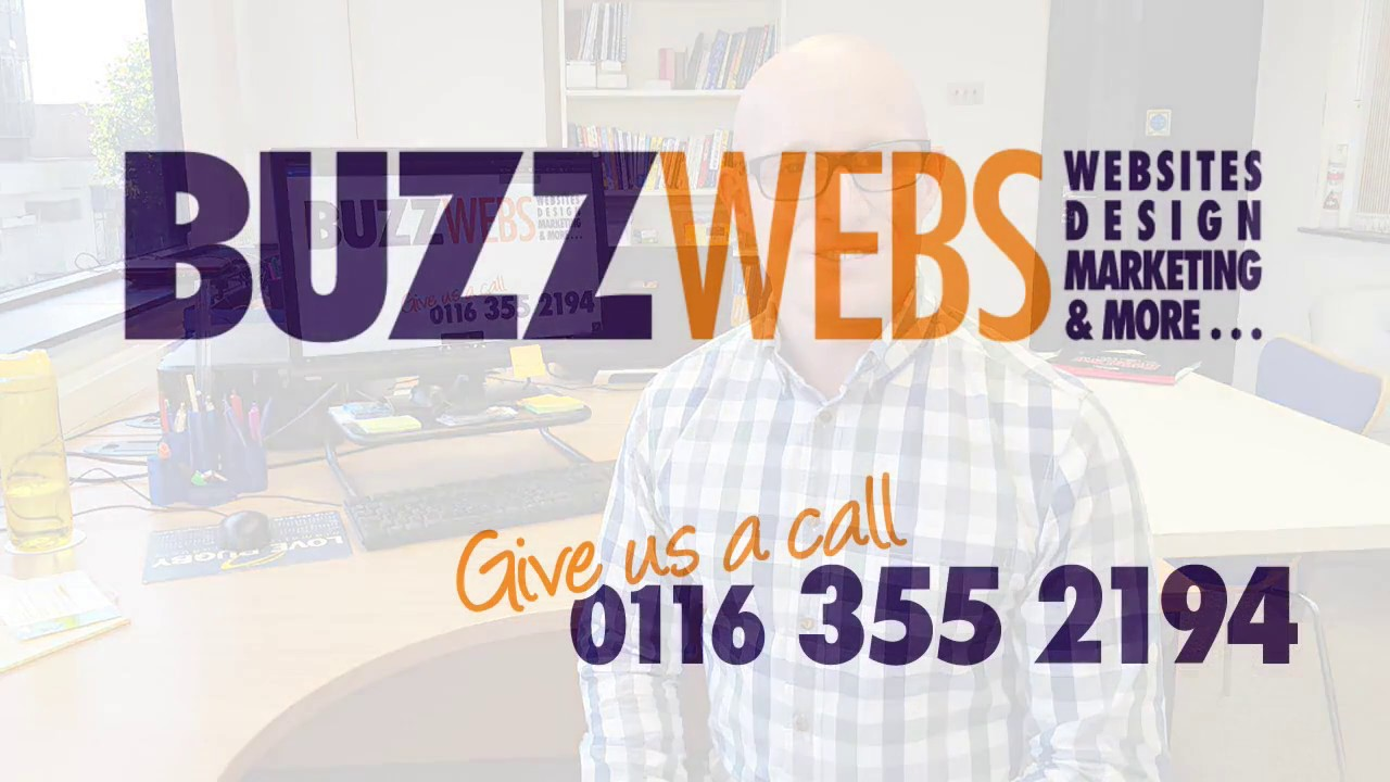 Website Design in Leicestershire for small businesses from Buzz