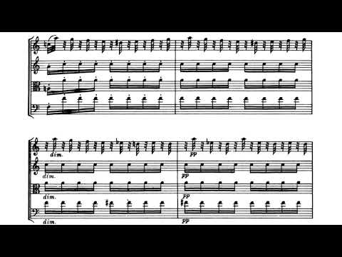 Haydn - String Quartet, Op. 76, No.1 (score)