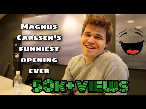 Image of: Life Magnus Carlsens Funniest Opening Ever Youtube Magnus Carlsens Funniest Opening Ever Youtube