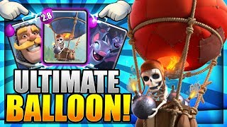 ULTIMATE BALLOON CYCLE!! 2.8 Elixir Super Fast Cycle Deck!  Clash Royale Strategy