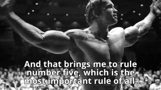 Motivation for Solutions Real Estate Agents - Arnold Schwarzenegger - Six Rules for Success