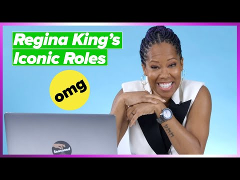 """""""Watchmen"""" Star Regina King Reacts To Her Most Iconic Roles"""