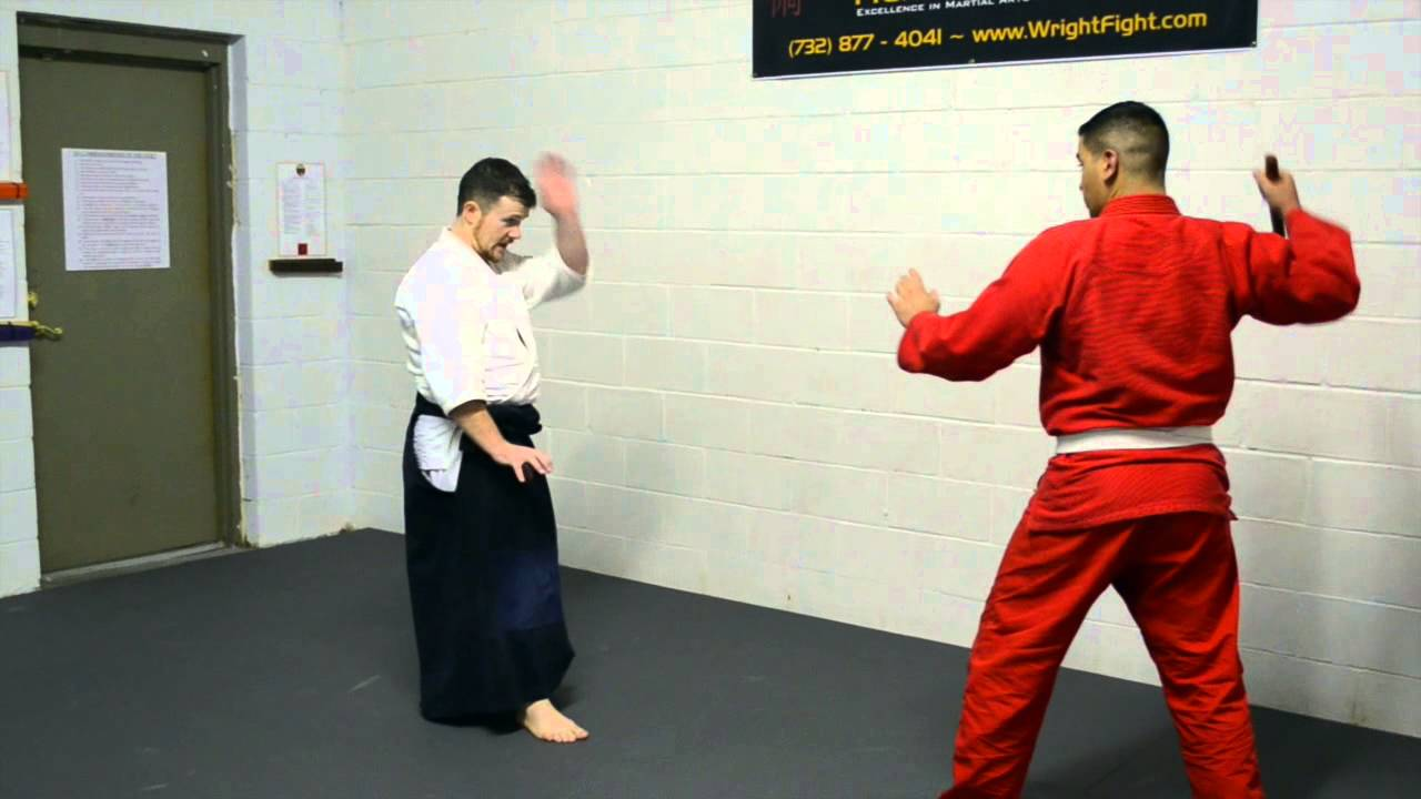 Technique of the Week: Knife Defense Part 2 - Shomen Uchi Gokyo ...
