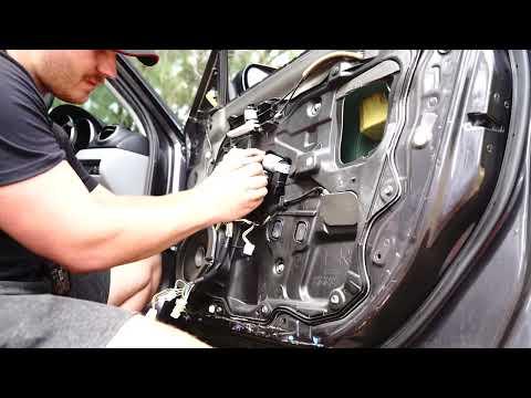 How To Mazda 3 Window Regulator Motor DIY Replacement