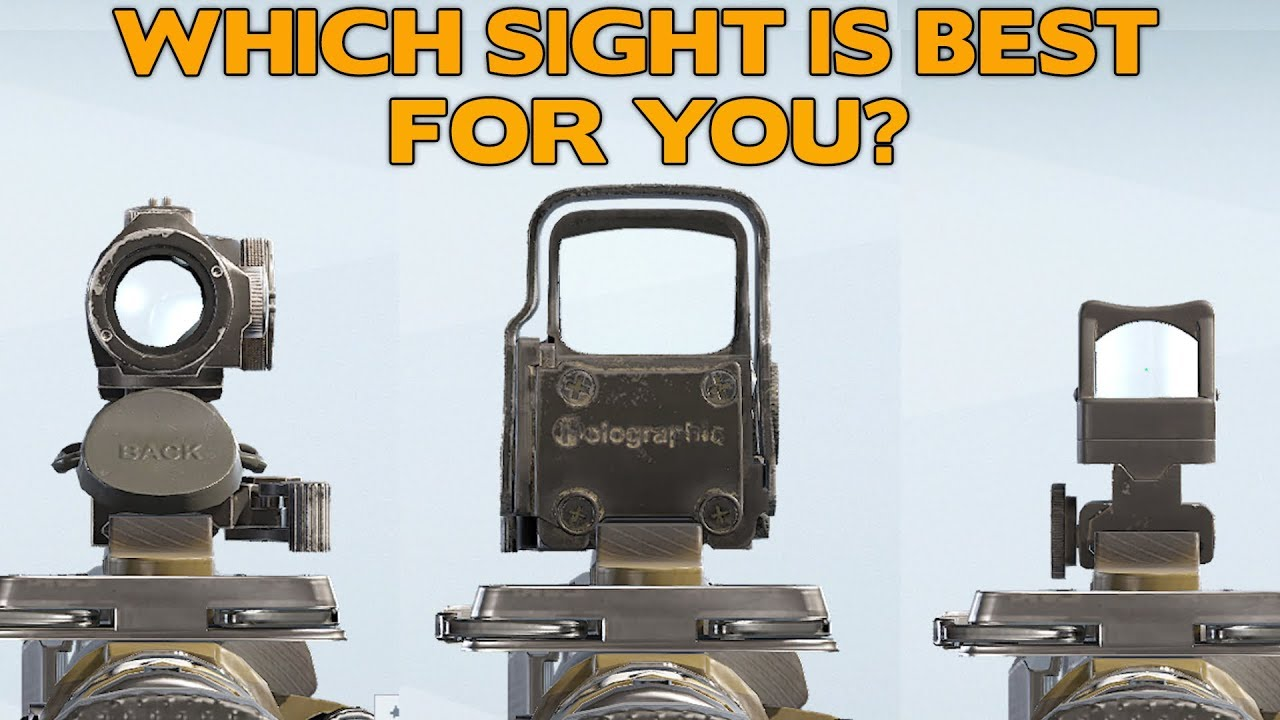 Red Dot Vs Reflex Vs Holographic Which Sight Is Best For You Youtube