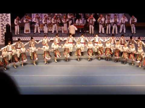"Moldavian Dance ""Joc"" Ansamble. Romanian Culture (live music)"