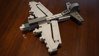 Lego B-17 How-To Build / Micro Boeing B-17G