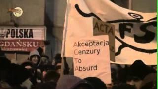 Manifestacja w Gdyni - protest przeciwko ACTA 2/2