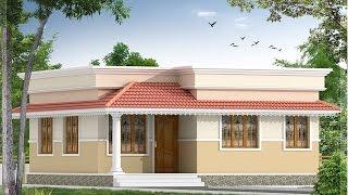 2bhk house interior design & Plan  10Lakhs in kerala House