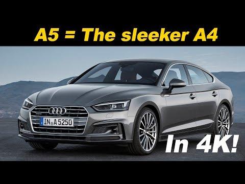 2018 / 2019 Audi A5 Sportback Review and Comparison