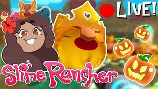 🔴 Hunting the Great Pumpkins?! • Slime Rancher Livestream! 🔴
