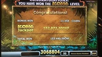 Erster Mega Kong Gewinn im Grand Casino Luzern