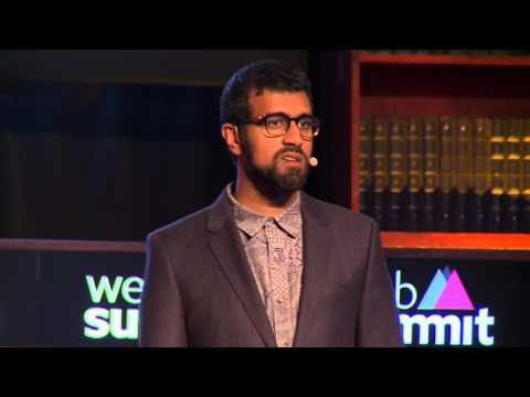"Future of Technology - ""We're Addicted to Screens"" - Web Summit Lecture by Golden Krishna"