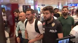 Fenerbahçe'nin Yeni Transferi Janssen, İstanbul'a Geldi