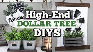 High-End Dollar Tree Farmhouse Decor You Should Try!   DIY DOLLAR TREE DECOR   Krafts by Katelyn