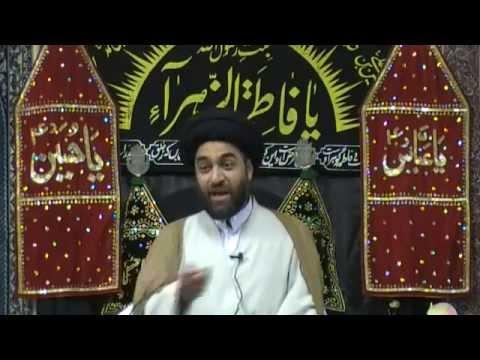 Mahe Rajab Majlis - Maulana Syed Ali Raza Rizvi